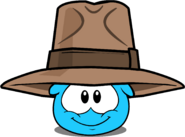 Adventurer's Fedora in Puffle Interface
