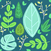 Fabric Leaves icon
