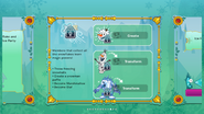 Frozen Fever Party 2016 app interface page 6