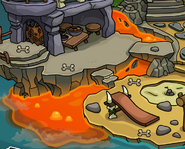 Lava at the Prehistoric Party