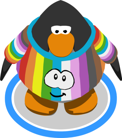 File:Rainbow Puffle Shirt IG.png