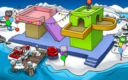 Puffle Party 2009 Dock