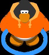Orange Hoodie In Game