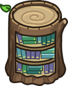 Stump Bookcase icon