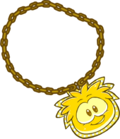 GoldPuffleChain