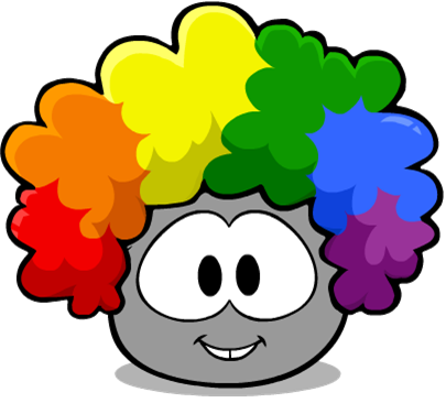 File:Rainbow Fro Grey Puffle.png