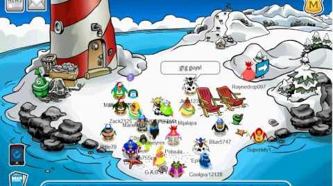 Trainman1405's Party on Club Penguin