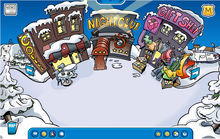 Club penguin town