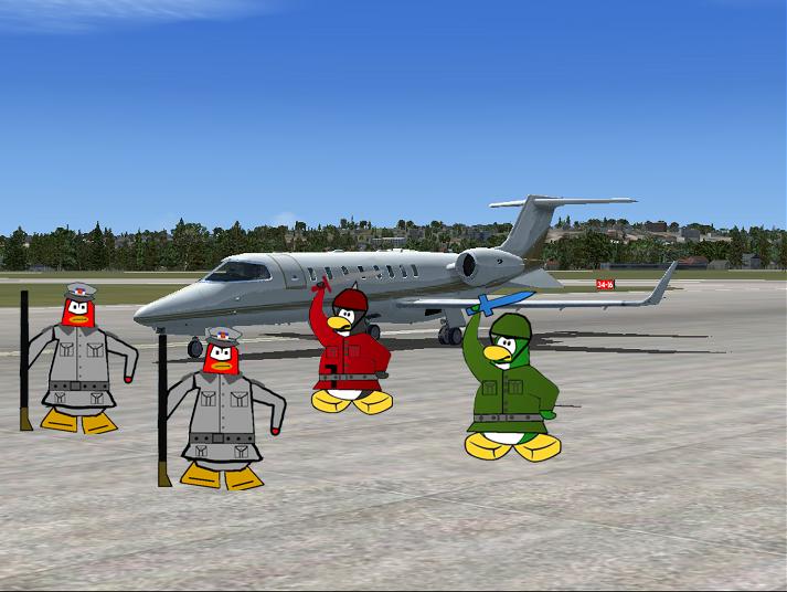 Plane Ground Attack Snoss