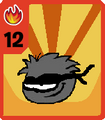 Ninja Puffle Summoning Card