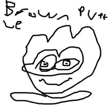Brown puffle rocket
