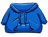 DK Style Blue Hoodie