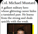 Col. Michael Mustard