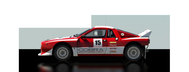 DiRT Rally Lancia 037 Evo 2