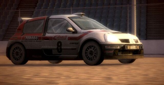 image renault clio super colin mcrae rally and dirt wiki fandom powered by wikia. Black Bedroom Furniture Sets. Home Design Ideas