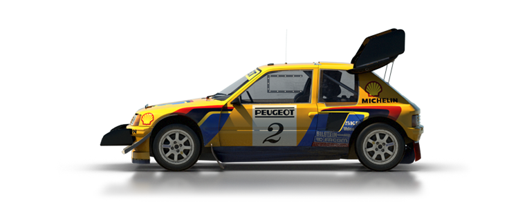 DiRT Rally Peugeot 205 T16 Pikes Peak