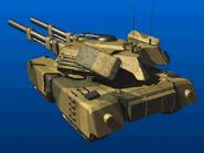 TD Mammoth Tank behind Render