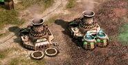 GDI power plants in Tiberium Wars
