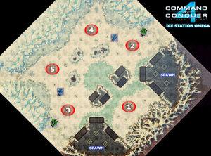 CNC4 Ice Station Omega Map