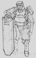CNCTW Grenadier Concept Art 6