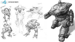CNC4 Titan Mk II Concept Art