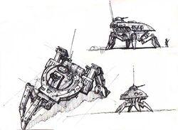RA2 battle walker