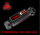 Nuclear strike beacon