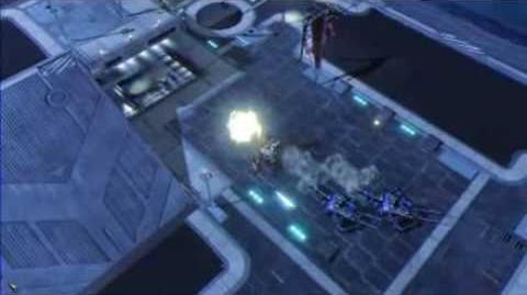 C&C Red Alert 3 Uprising Steel Ronin Surveillance Footage