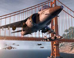 Harrier Strike Alcatraz