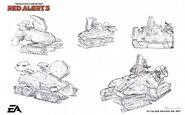 RA3 Mirage Tank Concept Art