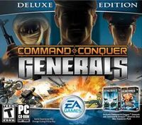 C&C Generals Deluxe Edition Cover
