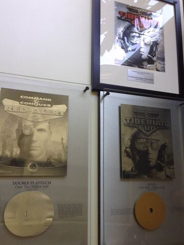 File:C&C platinum wall mounts at Superweapon Games.jpg