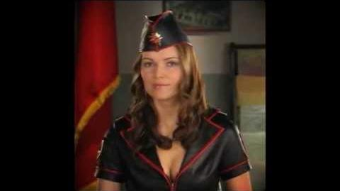 C&C Red Alert 3 Uprising - Dasha Fedorovich cutscenes