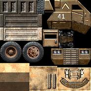 USA Supply Truck Texture 1