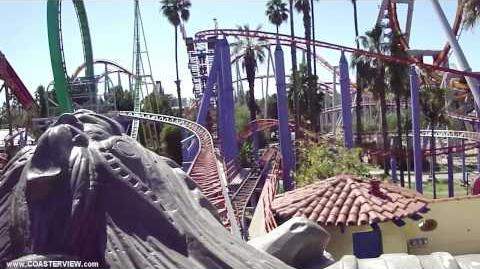 Jaguar! (Knotts Berry Farm) - OnRide - (720p)