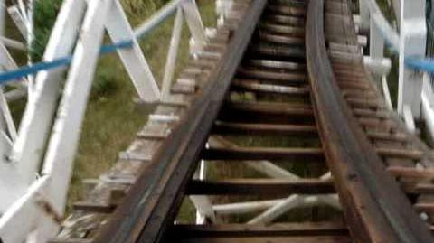 Roller Coaster (Pleasure Beach Blackpool) - OnRide - (480p)