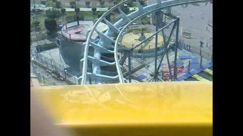Roller Coaster (Al-Sha'ab Leisure Park) - OnRide (1080p)