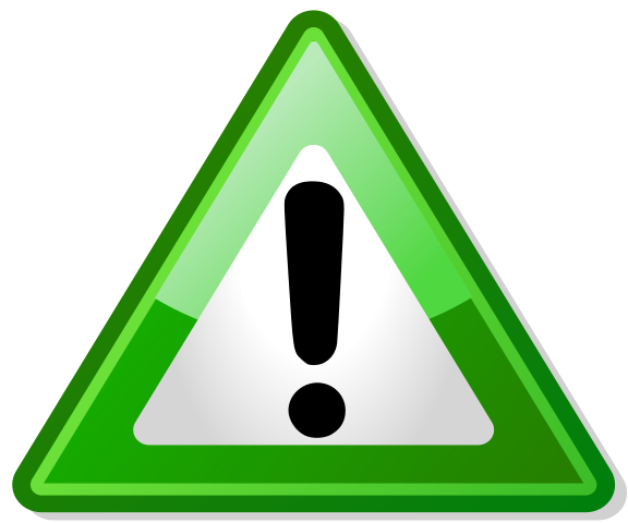 File:Warning triangle green.png