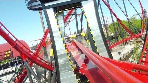 X-Flight (Six Flags Great America) - OnRide (1080p)