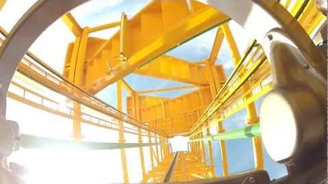 Ultra Twister (Nagashima Spa Land) - OnRide - (480p)