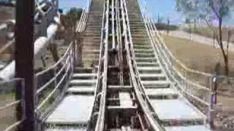 Road Runner Express (Six Flags Fiesta Texas) - OnRide - (240p)