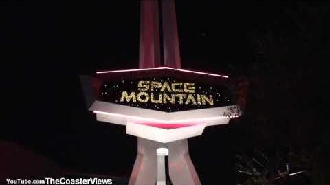 Space Mountain (Disneyland Park) - OnRide - (720p)