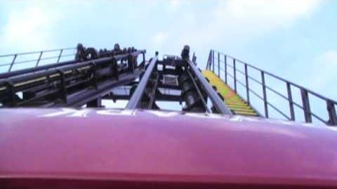 Sidewinder Front Seat (HD POV) Hershey Park