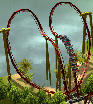 Diving Batwing RCT3