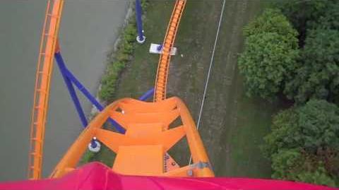 Behemoth (Canada's Wonderland) - OnRide - (720p)