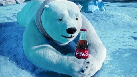 "Coke 2012 Commercial ""Catch"" starring NE Bear"