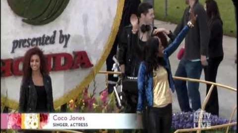 "Coco Jones - ""Holla At The DJ"" Performance at the Rose Parade 2013"