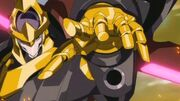 Shinkiro's Wrist-mounted Hadron Blaster