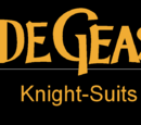 Code Geass: Knight Suits