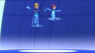 Odd and Aelita virtualized to Arena